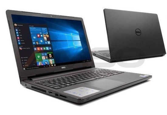 "Notebook Dell Inspiron 15 5558 15,6""HD/i3-5005U/4GB/1TB/iHD5500/W10 czarny matowy"