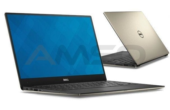 "Notebook Dell XPS 13 13,3""QHD+ touch/i7-6560U/8GB/SSD256GB/iIG540/W10 złoty"