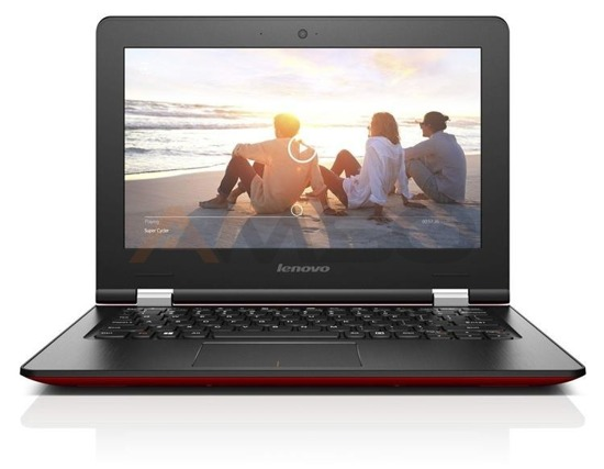 "Notebook Lenovo IdeaPad 300S-11IBR 11,6""HD/N3700/4GB/500GB/iHDG/W10 Red"