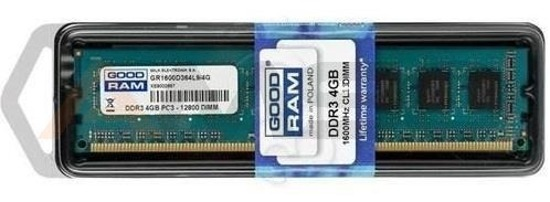 Pamięć DDR3 GOODRAM 8GB (2x4GB)/1600MHz PC3-12800 CL.11 DUAL CHAN.