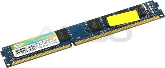 Pamięć DDR3 SILICON POWER 4GB 1600MHz (512*8) CL11 Single Rank