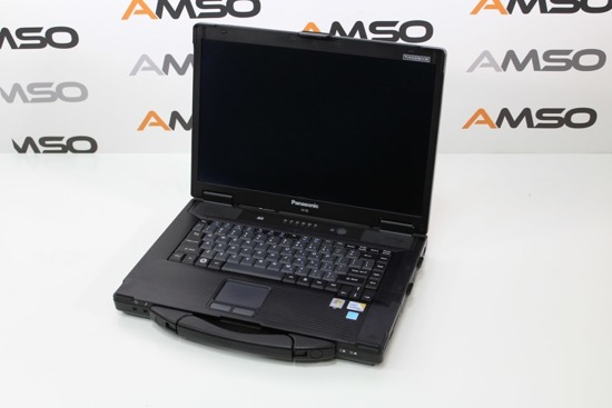 Panasonic CF-52 C2D P8400 4GB 160GB DVD RW WIN 7 HOME PL L10