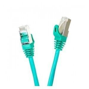 Patchcord FTP cat.5e 1m START.LAN zielony