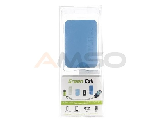 Power Bank Green Cell PB21 6600mAh biały