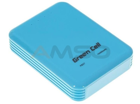 Power Bank Green Cell PB27 10000mAh niebieski