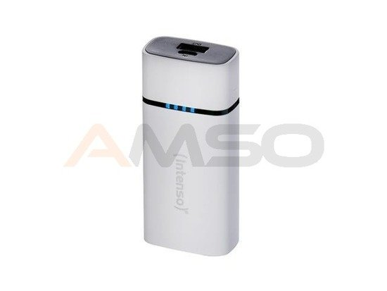 Power Bank Intenso P5200 biały 5200mAh