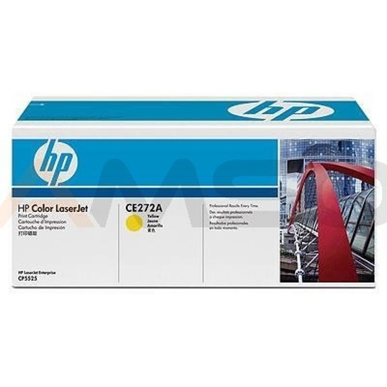 Toner HP LJ CP5525 Yellow
