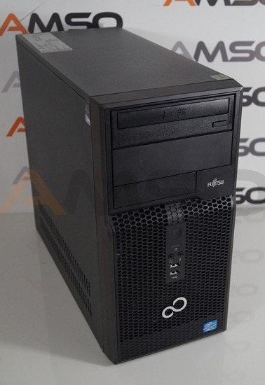 Tower Fujitsu P400 i3-3220 4GB 25GB DVDRW Windows 10 Home