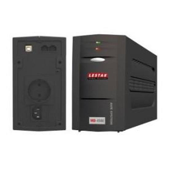 UPS Lestar L-INT MD-450Es AVR 1xSCH USB RJ LED BLACK