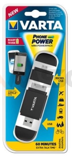 Varta Mini Powerpack 400mAh (black)