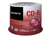 CD-R Sony x48 700MB (Cake 50)