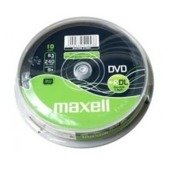 DVD+R DL MAXELL 8,5 GB 8x CAKE 10