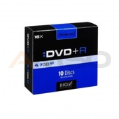 DVD+R INTENSO 4.7GB X16 (10-PACK SLIM)