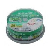 DVD+R MAXELL 4,7 GB 16x PRINTABLE CAKE 25
