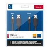 STREAM Play & Charge Cable Set - for PS4, black