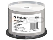 DVD-R Verbatim 4.7GB X16 AZO DL+ printable thermal białe NO ID (50 Cake)