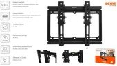 Uchwyt ścienny do LCD LED TV Acme MTST12 Tilting TV wall mount, 17–42""